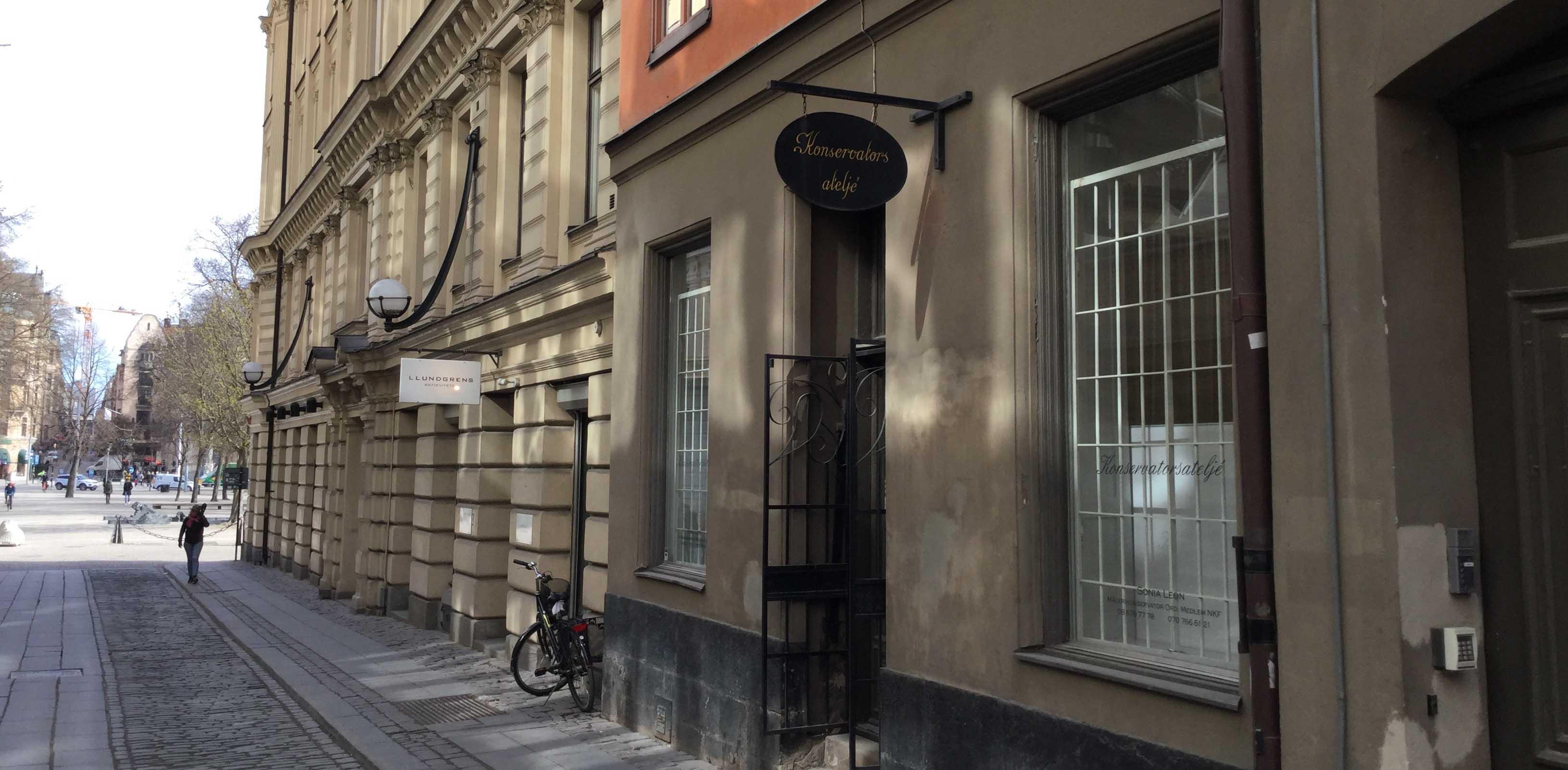 få hjälp av en konservator i Stockholm